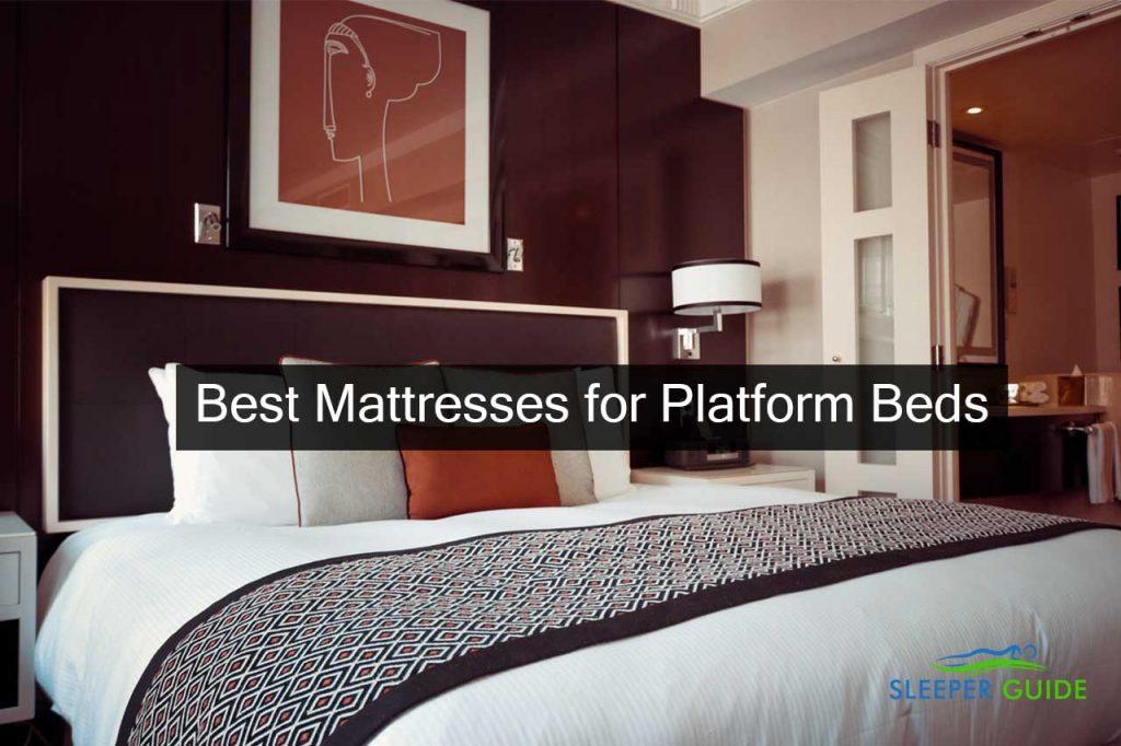 Best Mattresses for Platform Beds